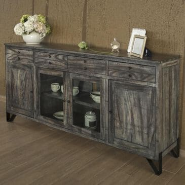 "Fallridge Moro 80"" TV Stand with 4-Drawer and 4-Door in Warm Gray, , large"