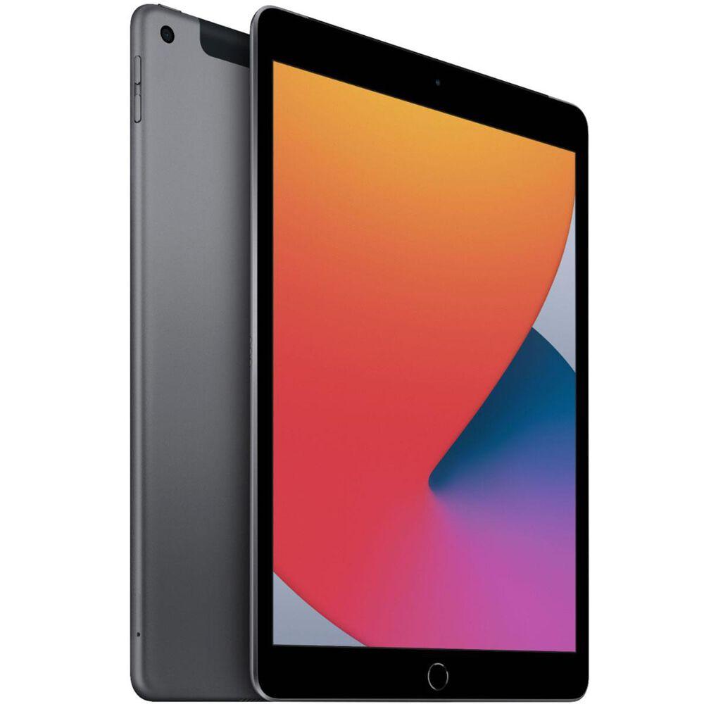 "Apple 10.2"" iPad (Latest Model) Wi-Fi + Cellular 32GB (Unlocked) - Space Gray, , large"
