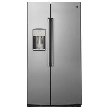 Cafe 21.9 Cu. Ft. Counter Depth Side by Side Refrigerator in Stainless Steel, , large