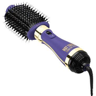 Hot Tools Signature Series Ultimate Heated Straightening Brush Styler in Purple, , large