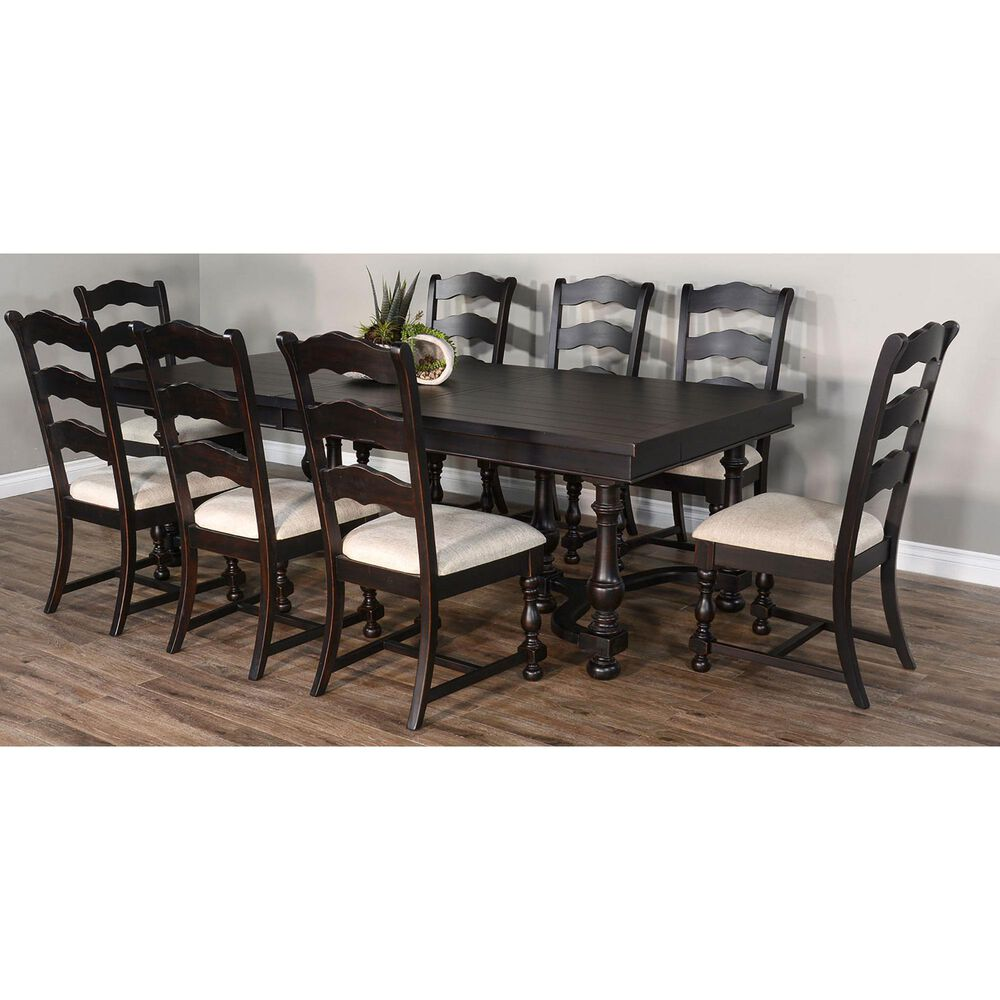 Sunny Designs Scottsdale Dining Table in Black Walnut, , large