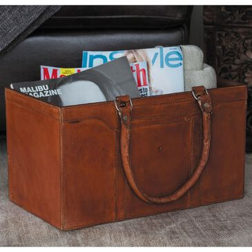 """Maple and Jade 8"""" x 15"""" Magazine Holder in Brown, , large"""