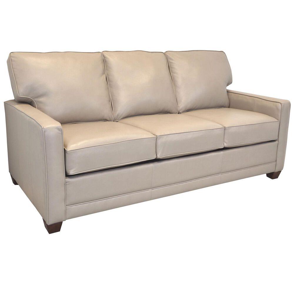 "La Crosse Marietta Leather Queen Sofa Sleeper with 5"" Innerspring Mattress in Tan, , large"