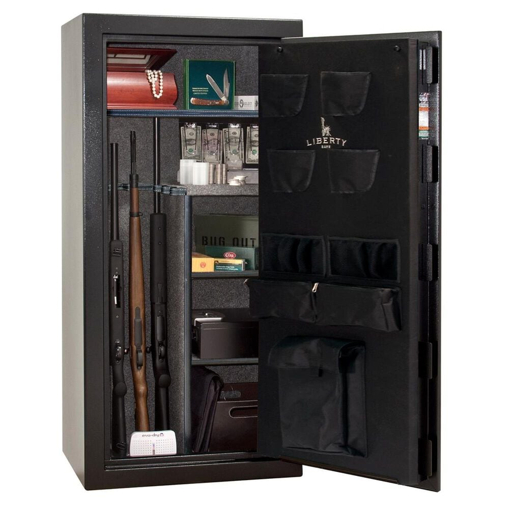 Liberty Safe & Security Centurion 24-Gun Safe in Textured Black, , large