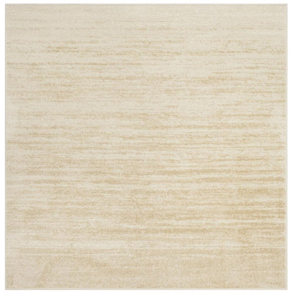 Safavieh Adirondack ADR113W 6' Square Champagne and Cream Area Rug, , large