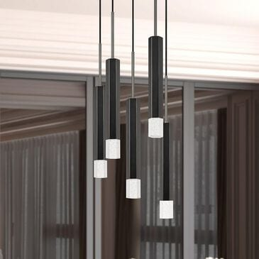 Cal Lighting Troy Chandelier in Gun Metal, , large