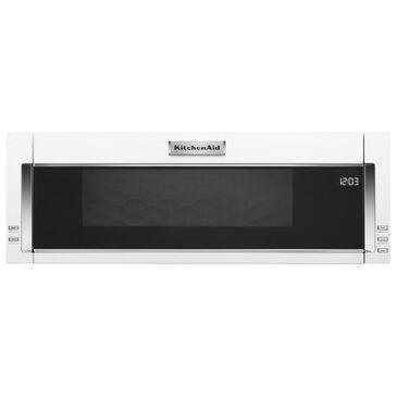 Whirlpool 1000-Watt Low Profile Microwave Hood Combination in White, , large