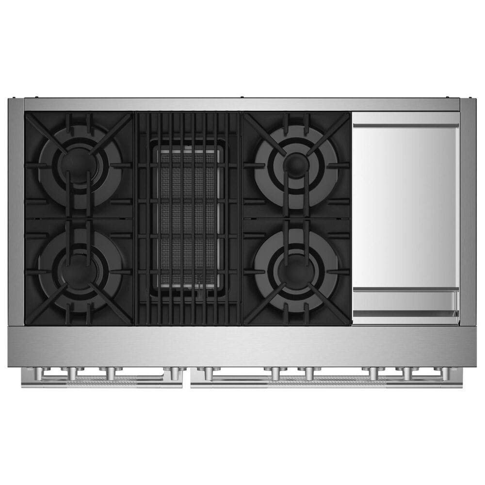 """Jenn-Air Rise 48"""" Dual-Fuel Professional Range in Stainless Steel, , large"""