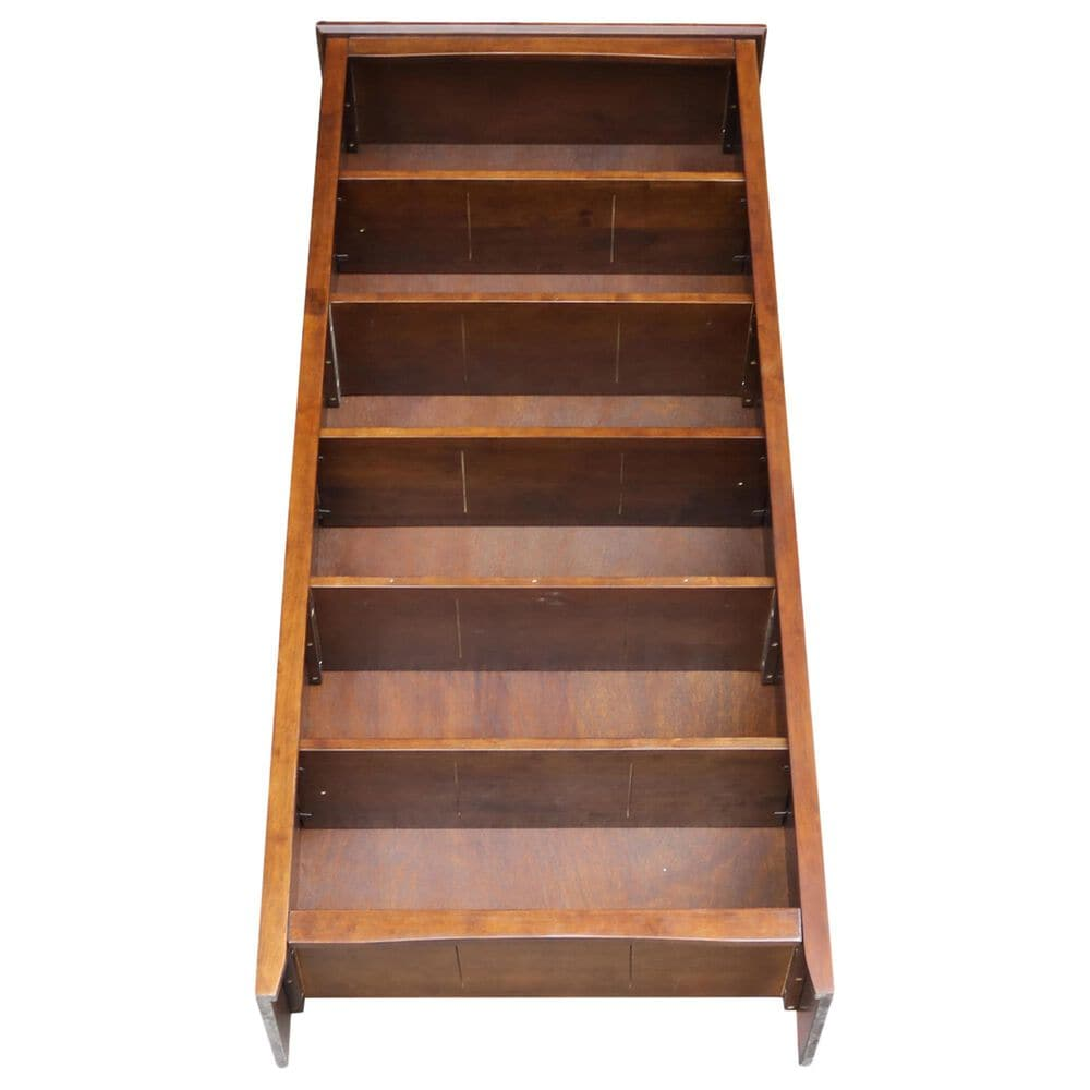 """International Concepts Shaker 72"""" Bookcase in Espresso, , large"""