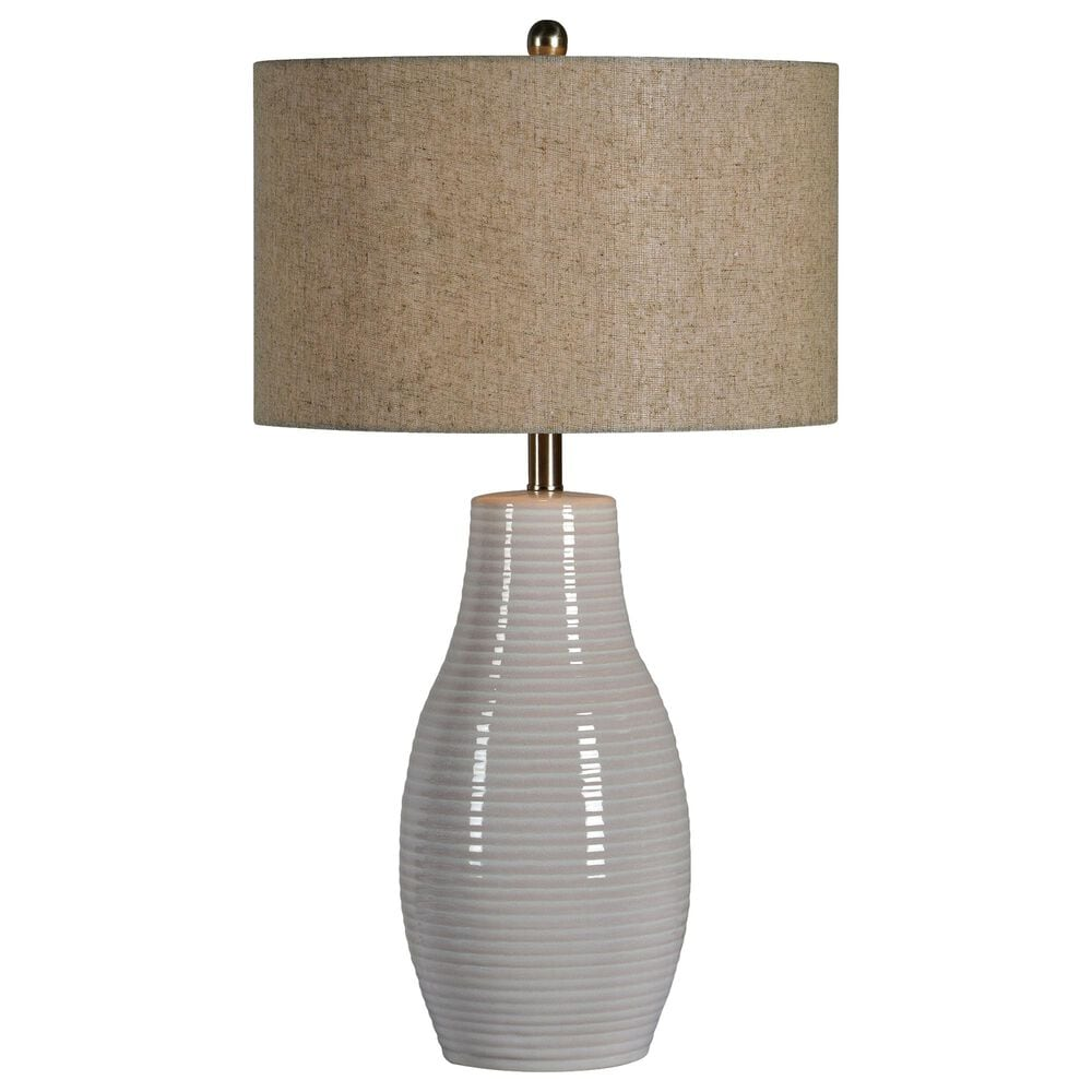 Southern Lighting Marlo Table Lamp in White, , large