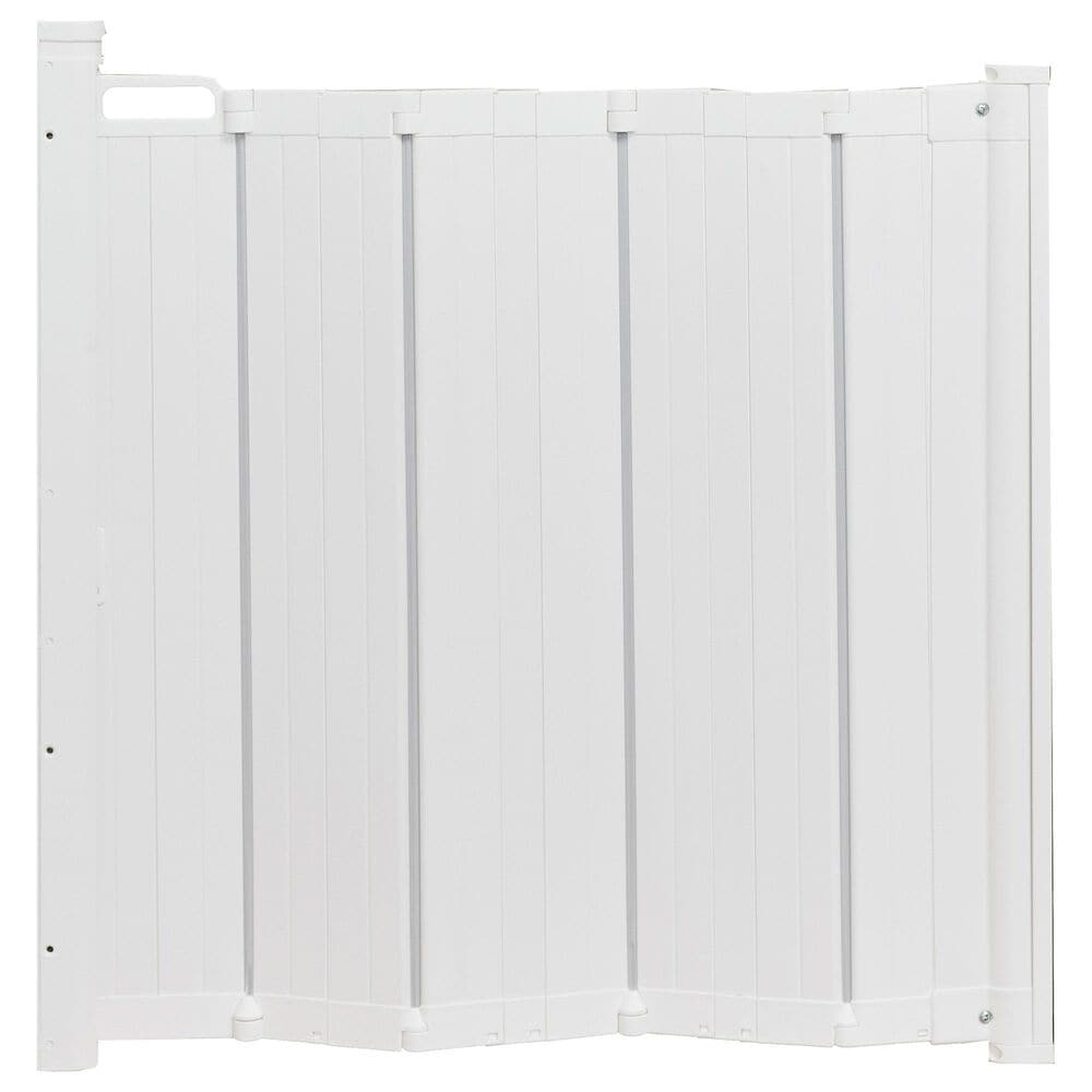 """LA Baby BabyDan Guard Me 22"""" - 45"""" Auto Retractable Safety Gate in White, , large"""