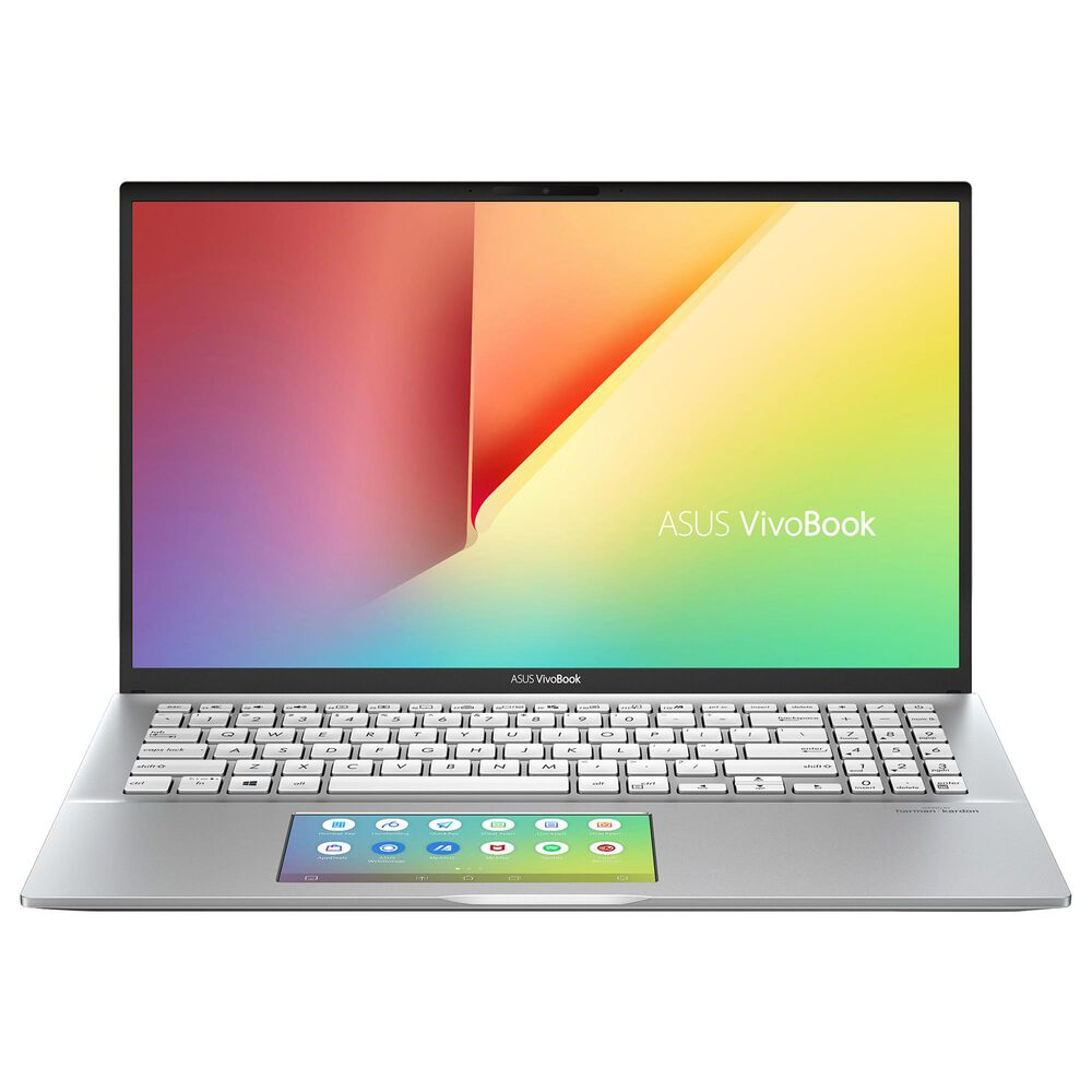 "ASUS 15.6"" VivoBook Laptop | Intel Core i5-10210U - 8GB RAM - Intel UHD Graphics - 512 GB SSD in Transparent Silver, , large"