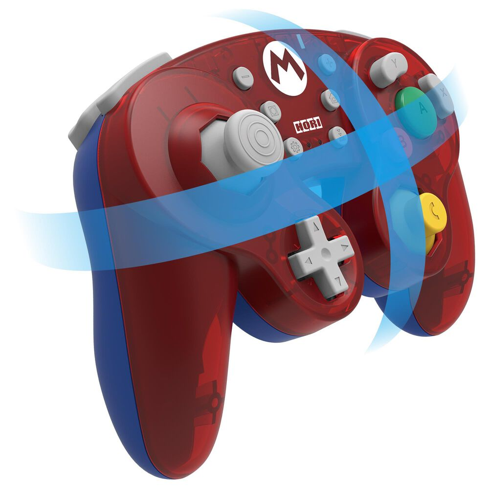 Hori Wireless Battle Pad Mario in Red - Nintendo Switch, , large
