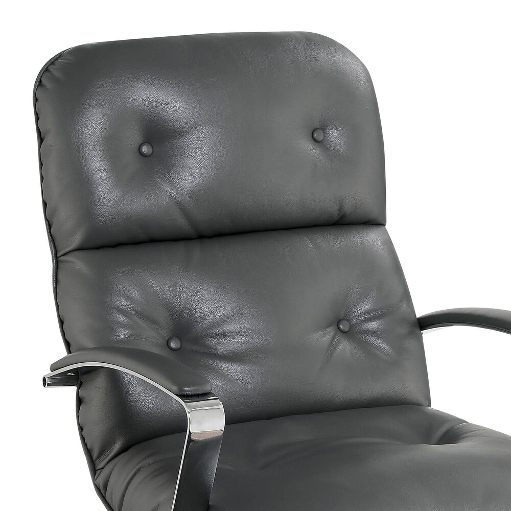 Furniture of America Ballard Office Chair in Gray, , large