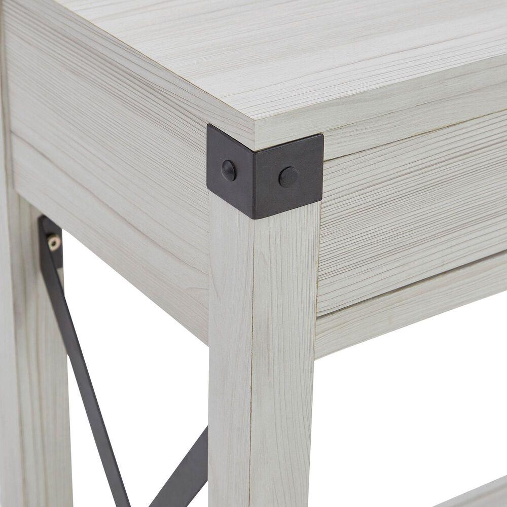 Signature Design by Ashley Bayflynn Console Sofa Table in Whitewash, , large