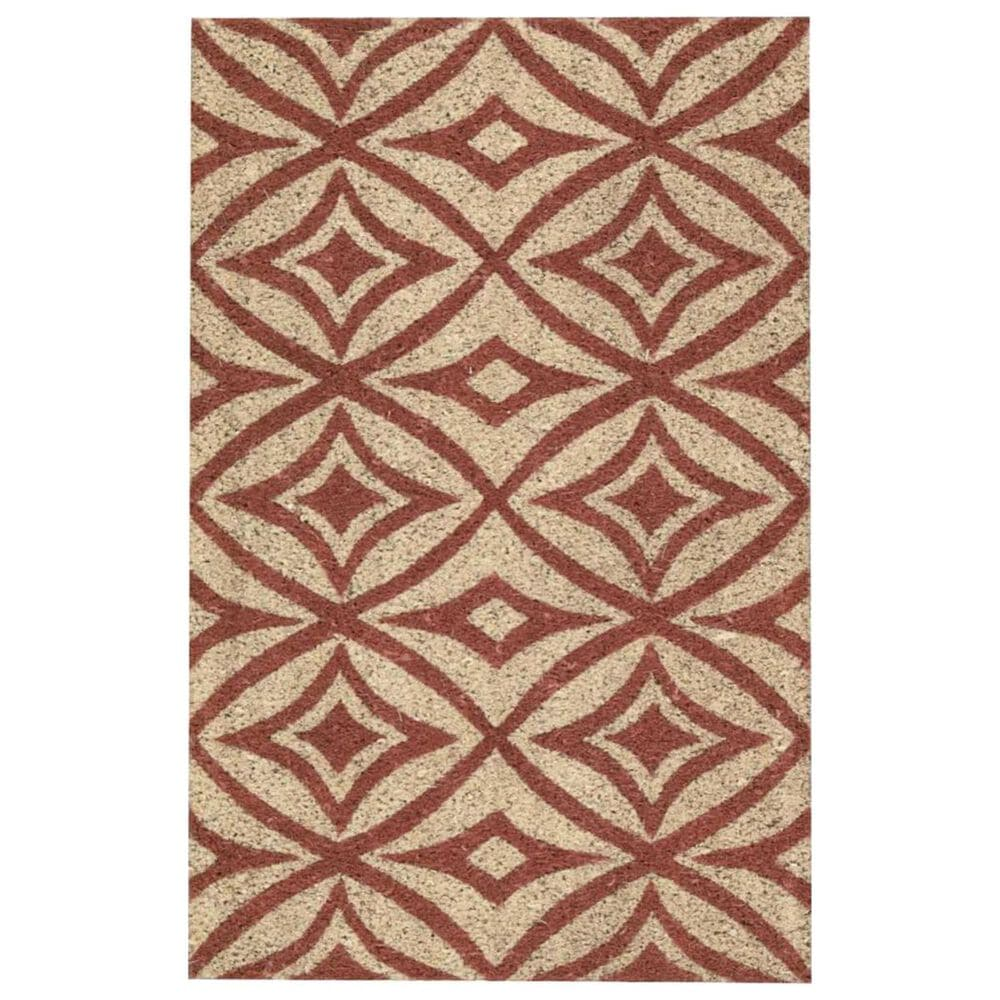"Nourison Greetings WAV17-WGT03 1'6"" x 2'4"" Henna Scatter Rug, , large"