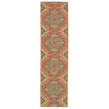 """Oriental Weavers Cabana 621C2 1'11"""" x 7'6"""" Pink Runner, , large"""
