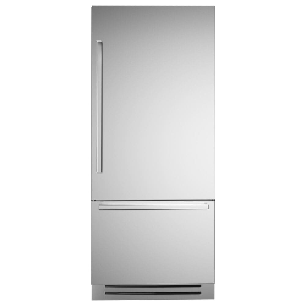 """Bertazzoni 36"""" Built-In Bottom Mount Refrigerator with Right Hinge in Stainless Steel, , large"""