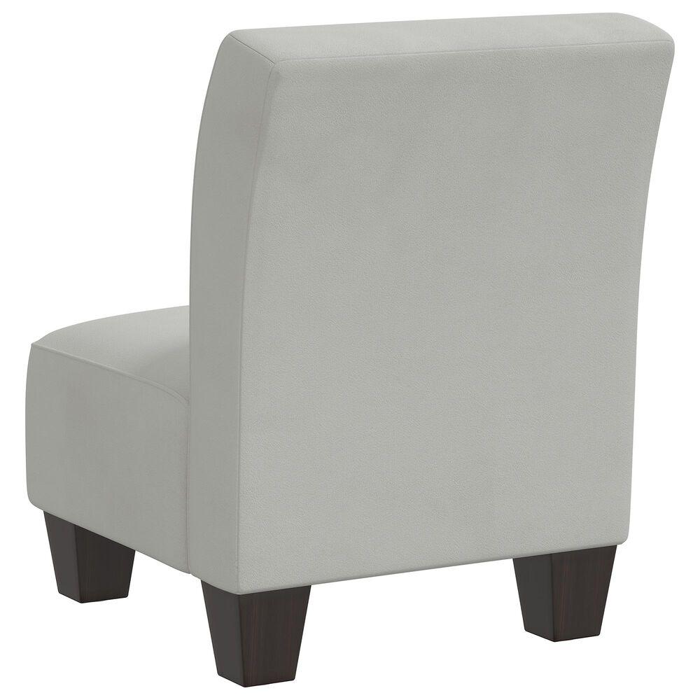 Skyline Furniture Kids Chair in Velvet Light Grey, , large