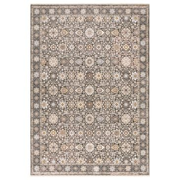 Oriental Weavers Maharaja Qatar 71N 2' x 3' Grey and Ivory Scatter Rug, , large
