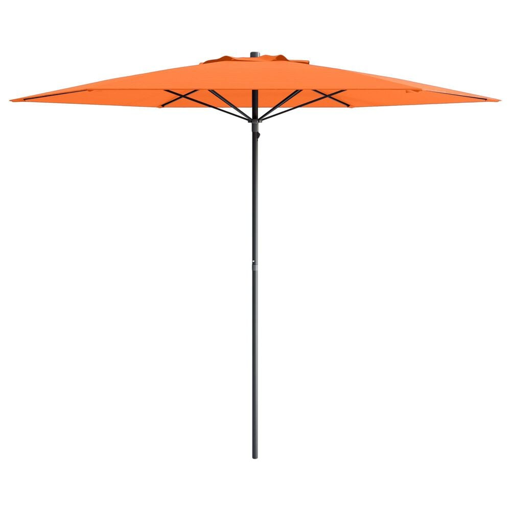 CorLiving 7.5' UV & Wind Resistant Umbrella in Orange, , large