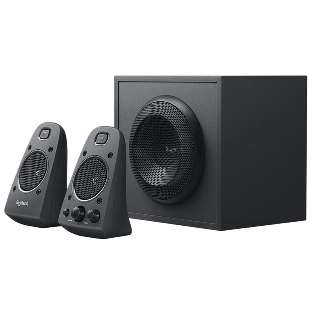 Logitech Z625 Speaker System with Subwoofer and Optical Input in Black, , large