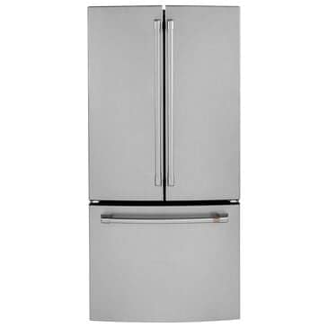 Cafe 18.6 Cu. Ft. Counter Depth French Door Refrigerator in Stainless Steel, Stainless Steel, large