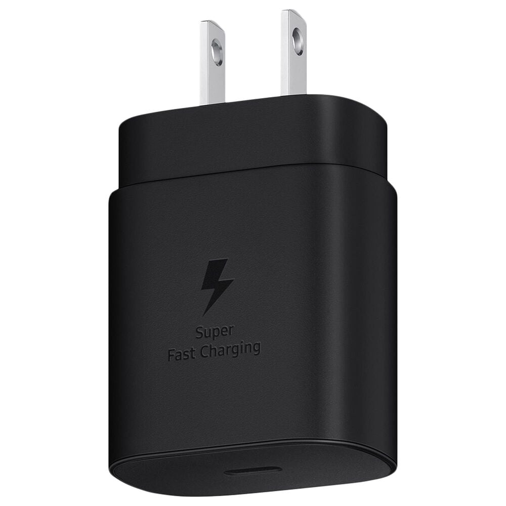 Samsung 25W Super Fast Wall Charger in Black, , large