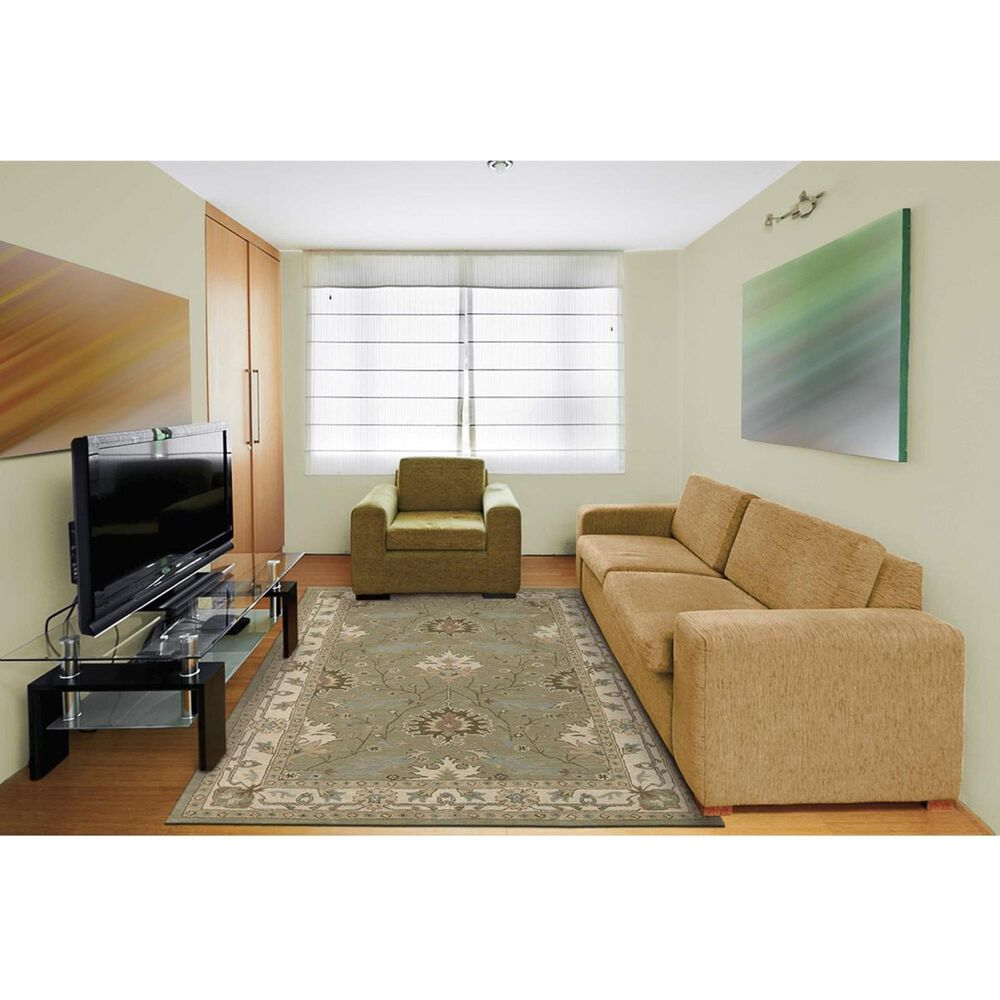 "Nourison India House IH76 8' x 10'6"" Sage Area Rug, , large"