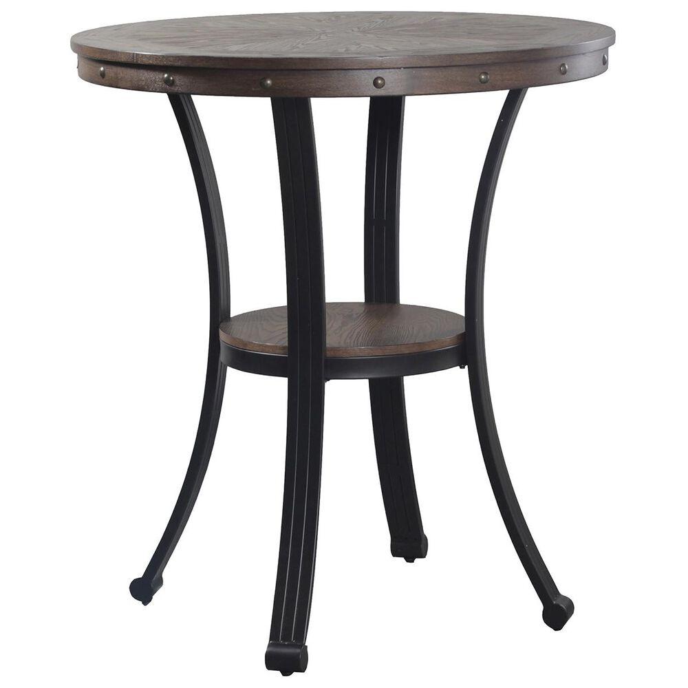 Parkerville Furniture Line Franklin 3-Piece Pub Table Set in Dark Brown, , large