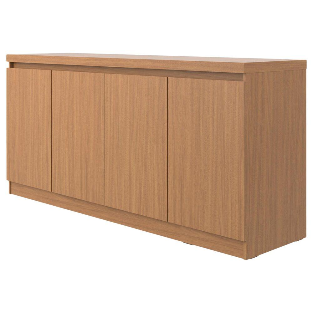 Dayton Viennese 6-Shelf Buffet Cabinet in Maple Cream, , large