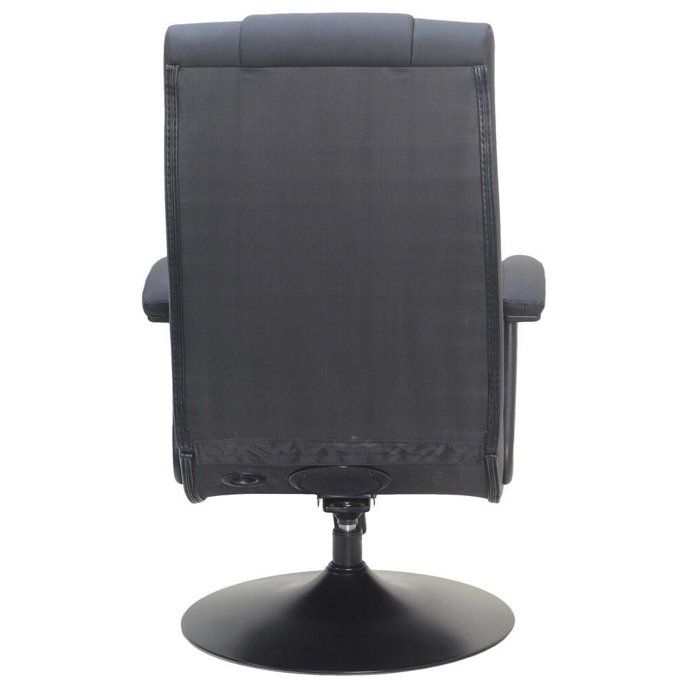 X-Rocker Covert 2.1 Wireless Audio Pedestal/Fixed Arms/Black, , large