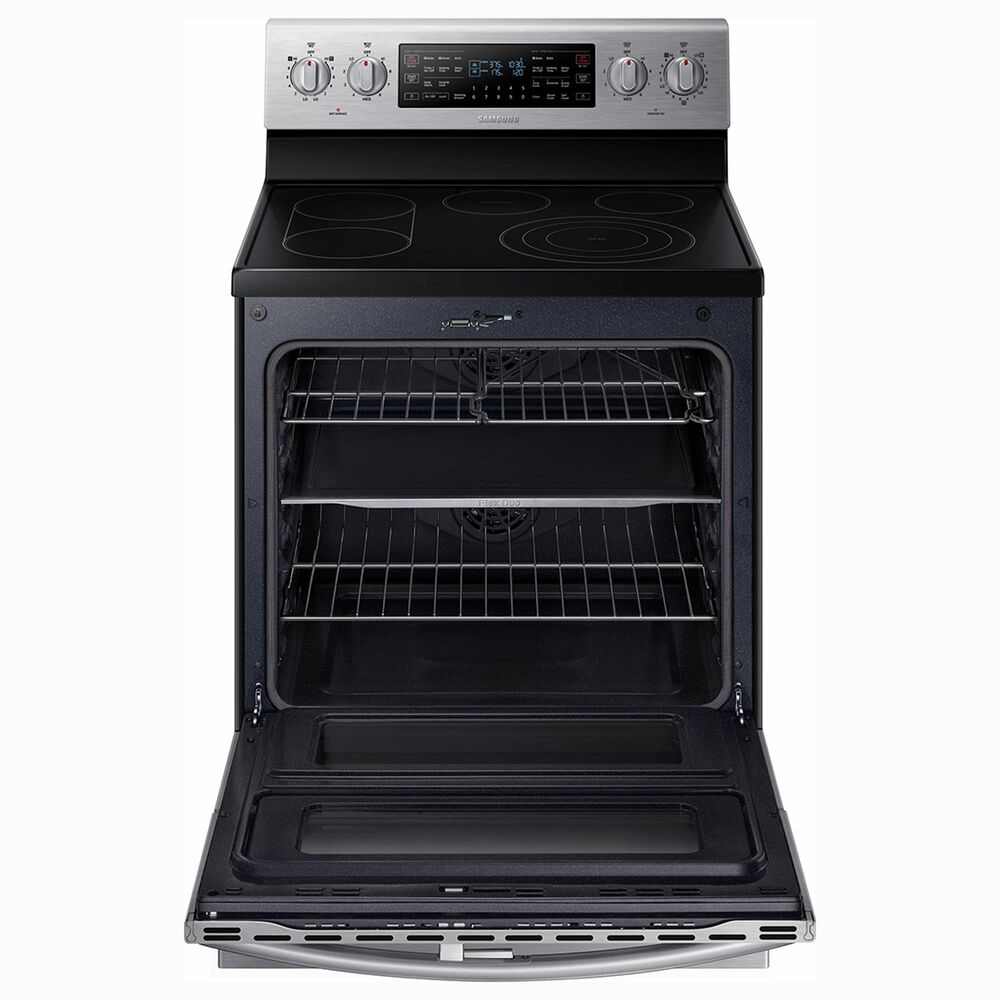 Samsung 3-Piece Kitchen Package with 5.9 Cu. Ft. Electric Range and StormWash 42 dBA Dishwasher in Stainless Steel, , large