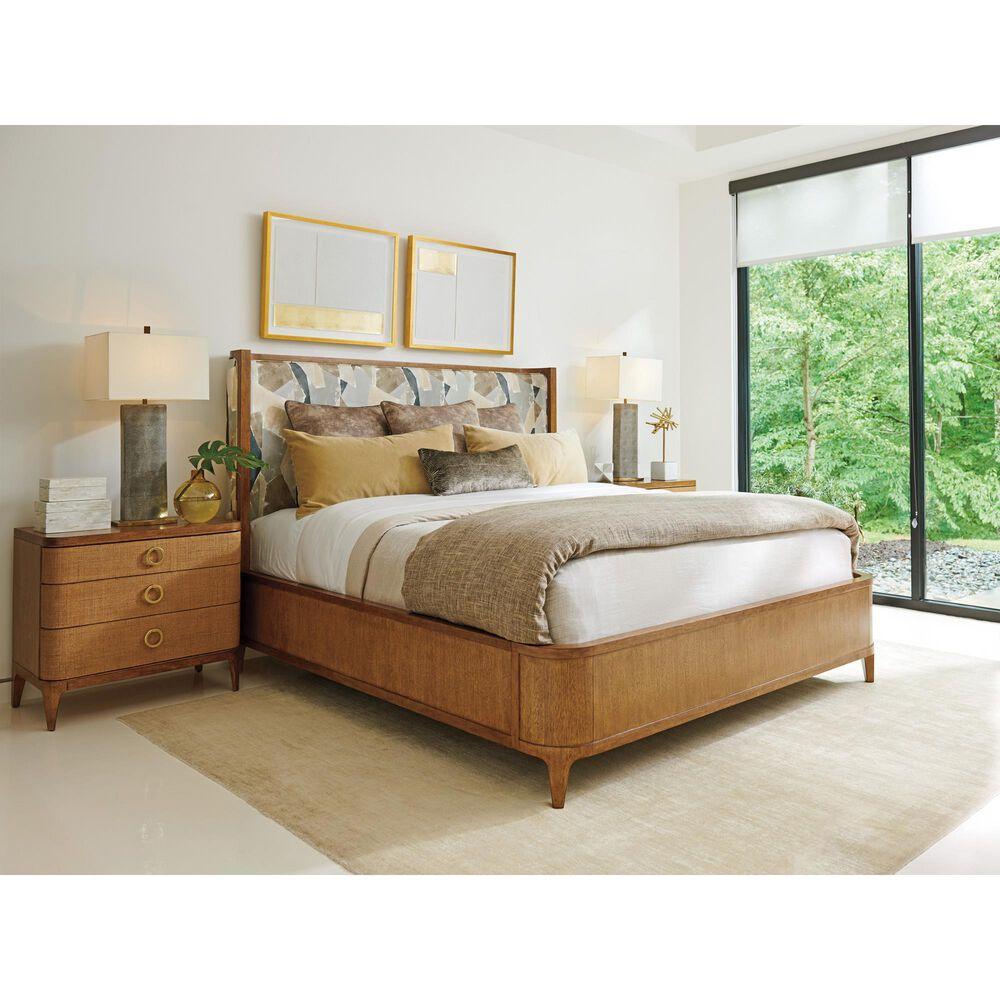 Lexington Furniture Palm Desert Moreno 3 Drawer Nightstand in Sierra Tan, , large