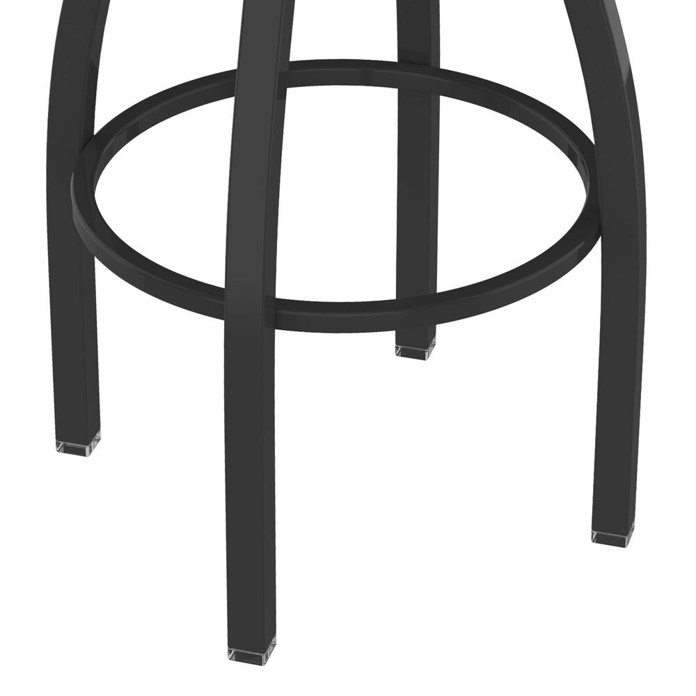 """Holland Bar Stool 802 Misha 25"""" Swivel Counter Stool with Pewter and Graph Poppy Seat, , large"""