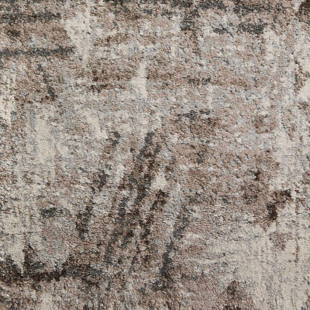 "Loloi II Austen AUS-03 7'10"" x 10'6"" Natural and Mocha Area Rug, , large"