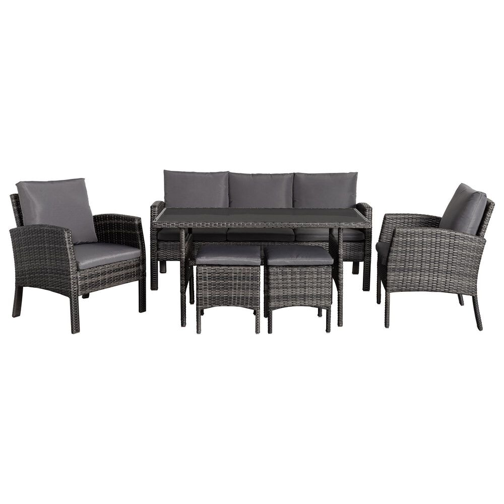 Global Note Collections 6-Piece Patio Set, , large