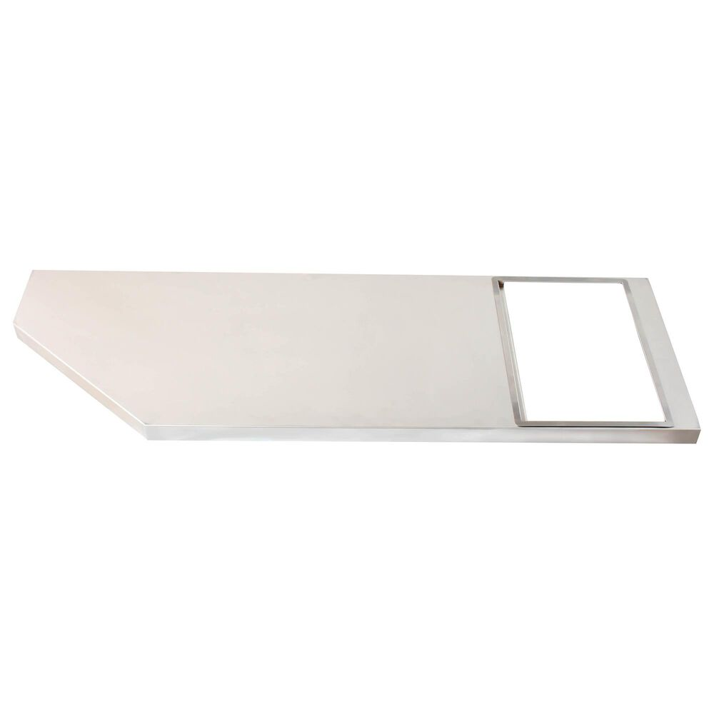 """Blaze 30"""" Griddle Cart Shelving Kit in Stainless Steel, , large"""
