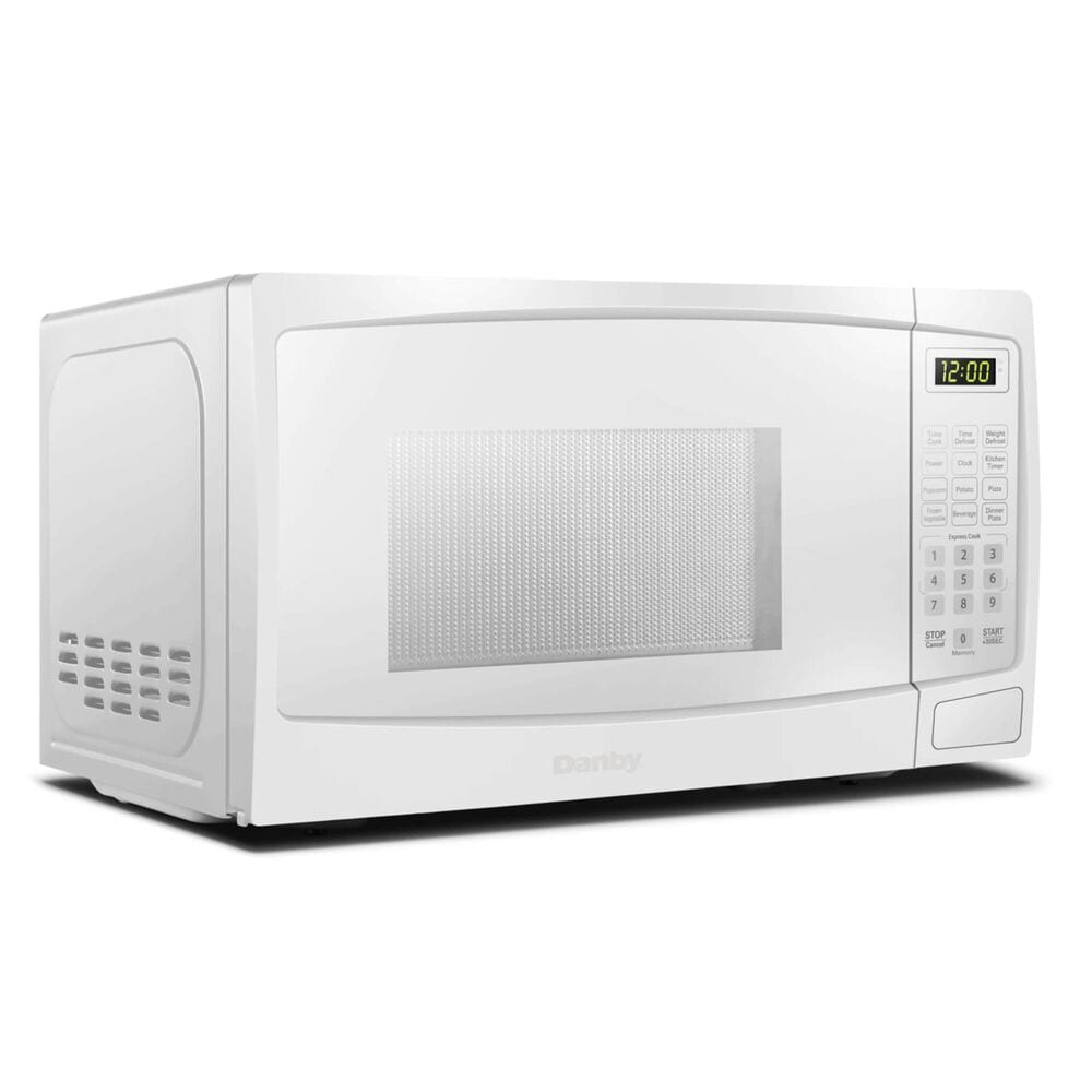 Danby 1.1 Cu. Ft. Countertop Microwave Oven in White, , large
