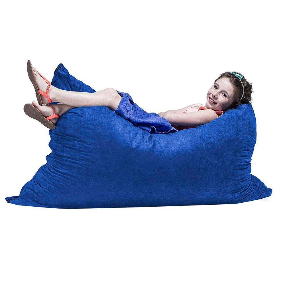 Jaxx 3.5' Pillow Kids Bean Bag in Blueberry, , large