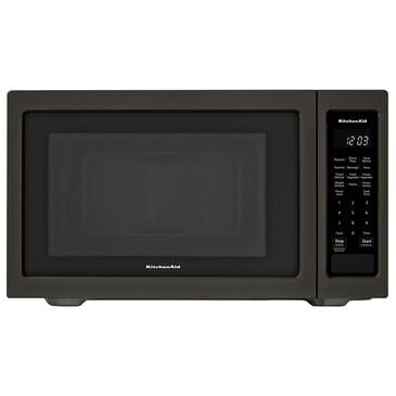 KitchenAid 1.6 Cu. Ft. Countertop Microwave Oven in Black Stainless, , large