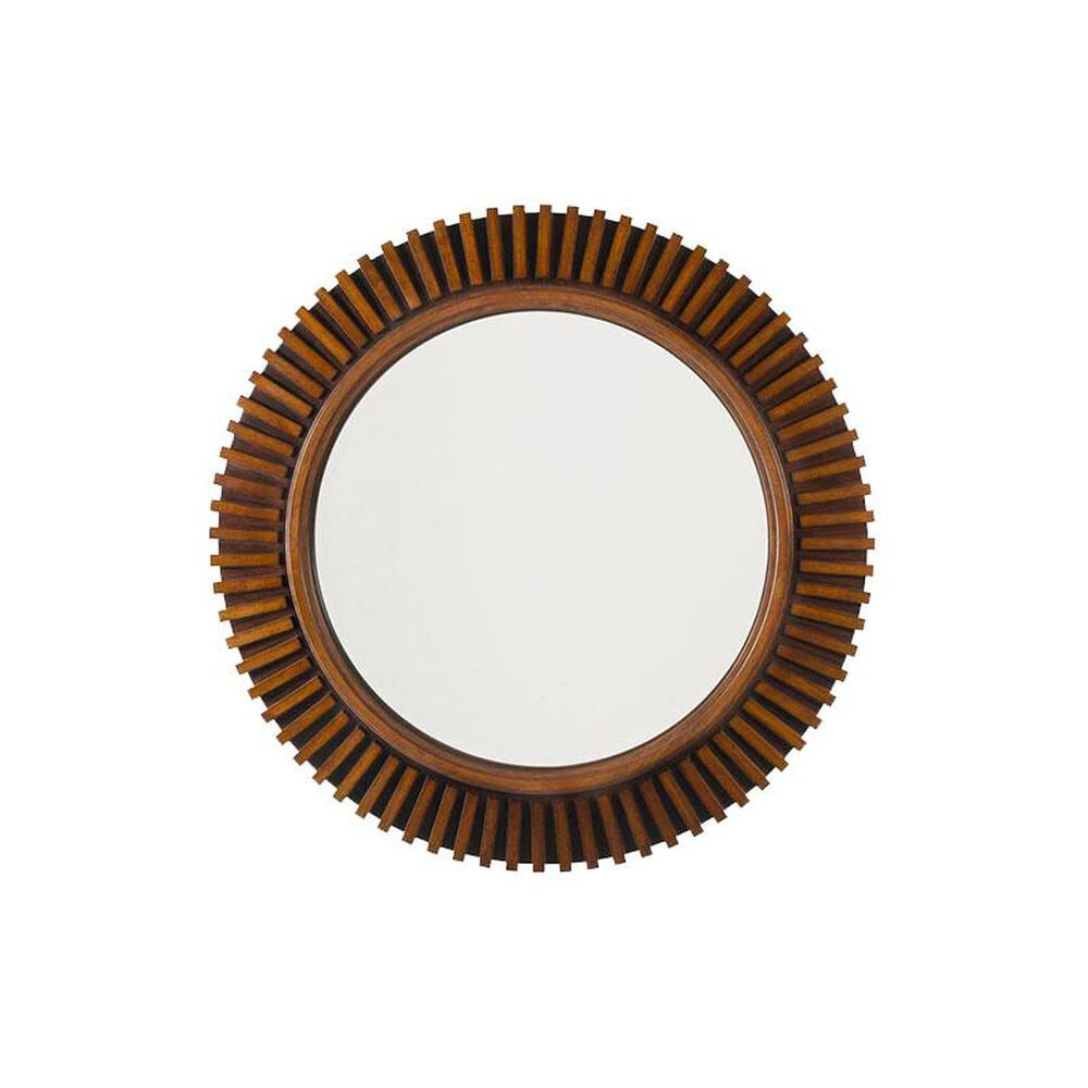Tommy Bahama Home Ocean Club Round Reflections Mirror, , large