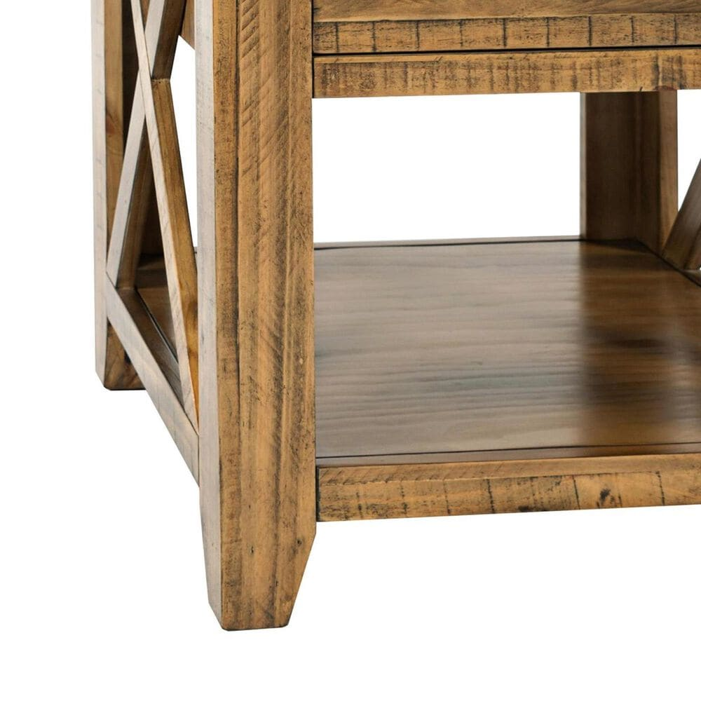 Waltham Telluride End Table in Brown, , large