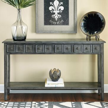 Parkerville Furniture Line Sadie Gray Console Table in Grey, , large