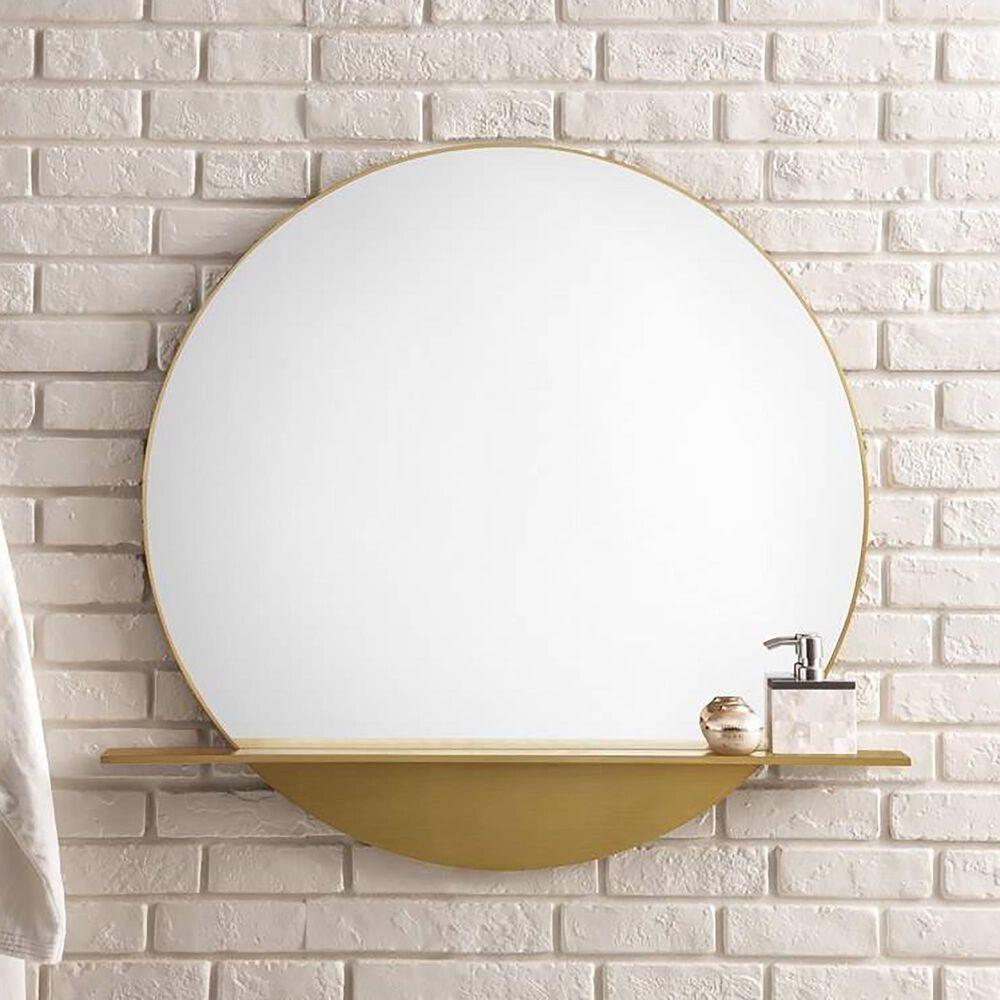 "James Martin Platform 36"" Mirror in Radiant Gold, , large"