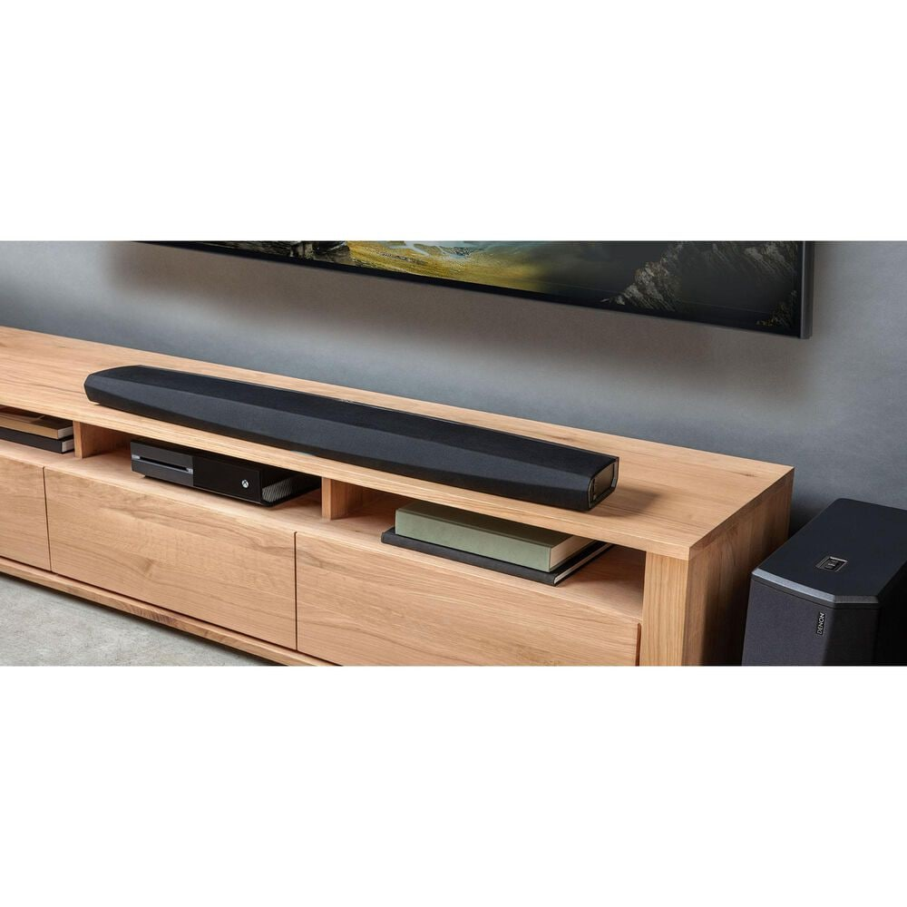 Denon Sound Bar with Alexa Voice Compatibility and HEOS Built-In in Black, , large