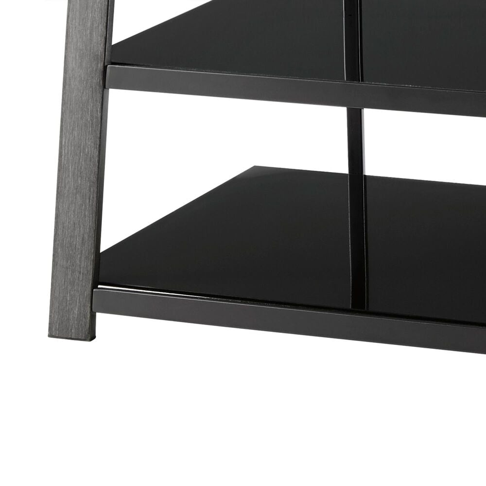 Signature Design by Ashley Rollynx TV Stand in Black, , large