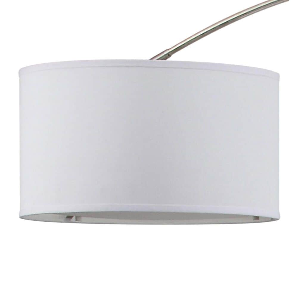 "Safavieh Mira 84"" Arc Floor Lamp in Nickel, , large"