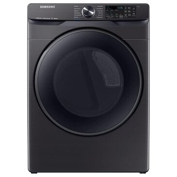 Samsung 7.5 Cu. Ft. Smart Electric Dryer with Steam Sanitize+ in Black Stainless Steel, , large
