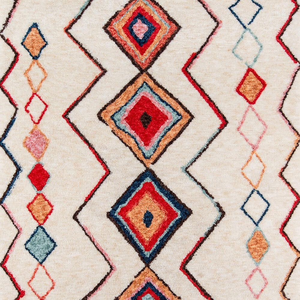 "Momeni Bungalow 3'6"" x 5'6"" Multicolor Area Rug, , large"
